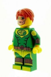 Geo Force (Brion Markov) - Custom Designed Minifigure